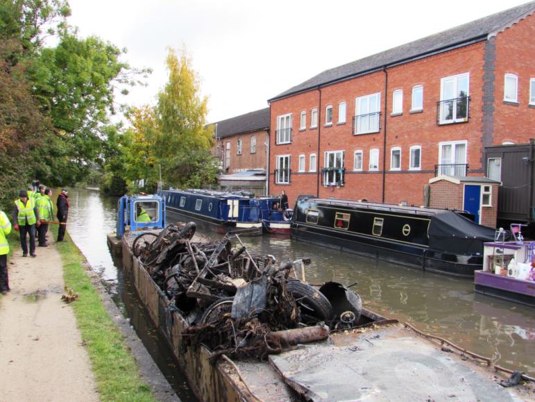 Volunteers needed to clean up canal the leamington observer for Charity motors on grand river
