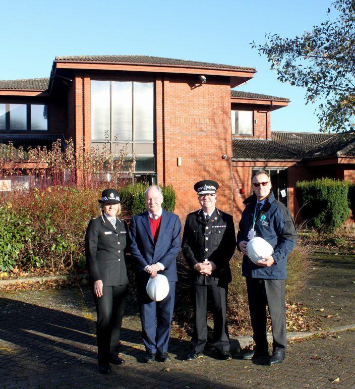 Police Hub Opening In Warwick