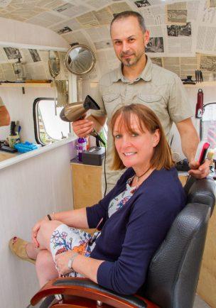 Brilliant mobile hairdresser idea!!!
