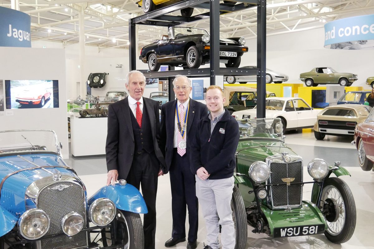 British Motor Museum geared-up for classic car rally in Leamington