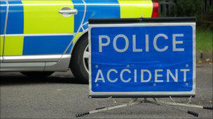 Motorcyclist dies after colliding with car