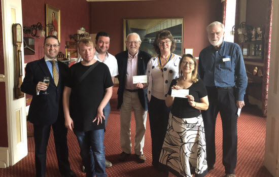 Charities given a helping hand by Leamington Rotary