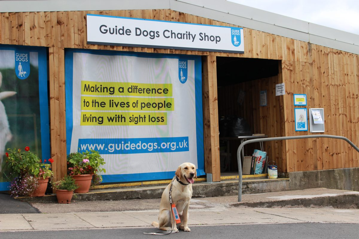 Volunteers needed to help run Guide Dogs charity shop