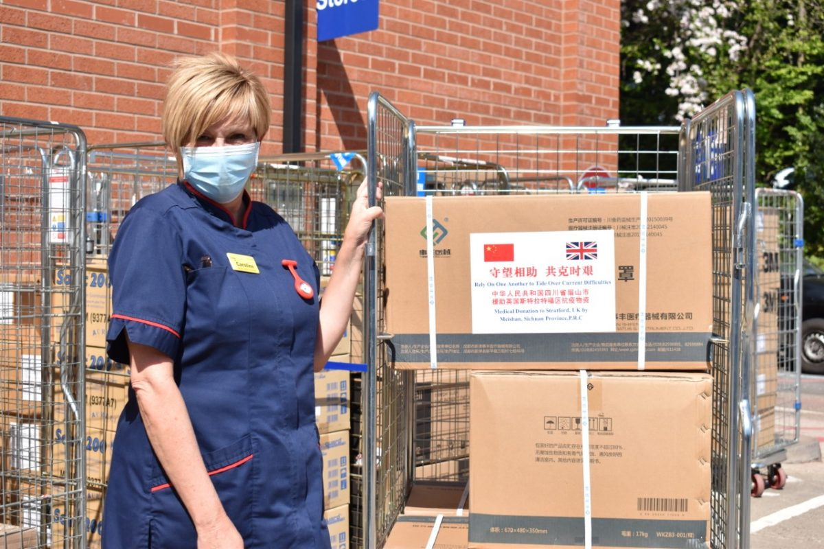 Big thanks goes out to PPE suppliers in Warwickshire - The ...